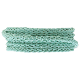 DQ Braided Leather Regular (4 mm) Mint Green (1 Meter)