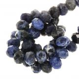 Sodalite Rondell Beads (8 x 5 mm) 67 pcs