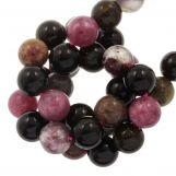 Tourmaline Beads (8 mm) 47 pcs