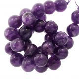 Amethyst Beads  (4 mm) 95 pcs