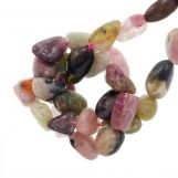 Tourmaline Beads (7 - 10 x 7 - 7 x 3 - 4 mm) 45 pcs
