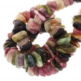 Tourmaline Beads (11 - 17 x 9 - 11 x 2 - 4 mm) 145 pcs