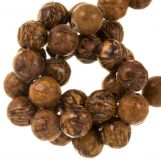 Elephant Skin Jasper Beads (6 mm) 60 pcs