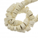Coconut Beads (4 - 5 mm) Blanched Almond (120 pcs)