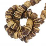 Coconut Beads (4 - 5 mm) Tiger (110 pcs)
