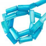 Shell Beads (10 x 4 mm) Sky Blue (36 pcs)