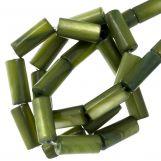 Shell Beads (10 x 4 mm) Green (36 pcs)