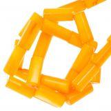 Shell Beads (10 x 4 mm) Orange (36 pcs)