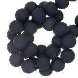 Acrylic Beads Mat (4 mm) Jeans Blue (1900 pcs)