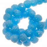 Acrylic Beads Rhinestone (4 mm) Water Blue (45 pcs)