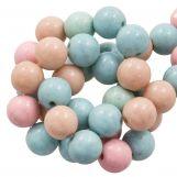 Acrylic Beads (10 mm) Mix Color (45 pcs)