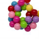 Acrylic Beads (8 mm) Mix Rainbow (180 pcs)