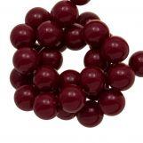 Acrylic Beads (10 mm) Cherry (90 pcs)