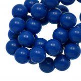 Acrylic Beads (10 mm) Dark Blue (90 pcs)