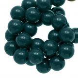 Acrylic Beads  (10 mm) Dark Teal (90 pcs)