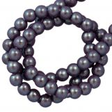 DQ Glass Pearls (2 mm) Plum (150 pcs)