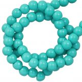 DQ Glass Pearls (2 mm) Turquoise (150 pcs)
