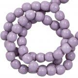 DQ Glass Pearls (2 mm) Lilac (150 pcs)