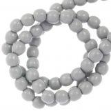 DQ Glass Pearls (2 mm) Grey Mist (150 pcs)
