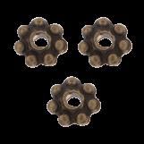 Metal Beads (4 mm) Bronze (40 pcs)