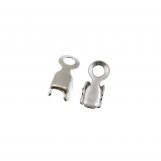 Rhinestone Chain Connector (2.4 mm) Silver (20 pcs)