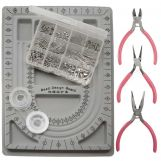 Starter Kit Jewelry Making (Stainless Steel) Silver