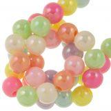 Acrylic Beads (6 mm) Mix AB Color (150 pcs)