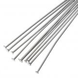 Stainless Steel Head Pins (35 mm) Antique Silver (100 pcs) Thick 0.7 mm