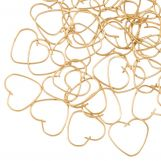 Stainless Steel Jump Rings (10 x 9 mm) Gold (50 pcs) Thickness 0.5 mm