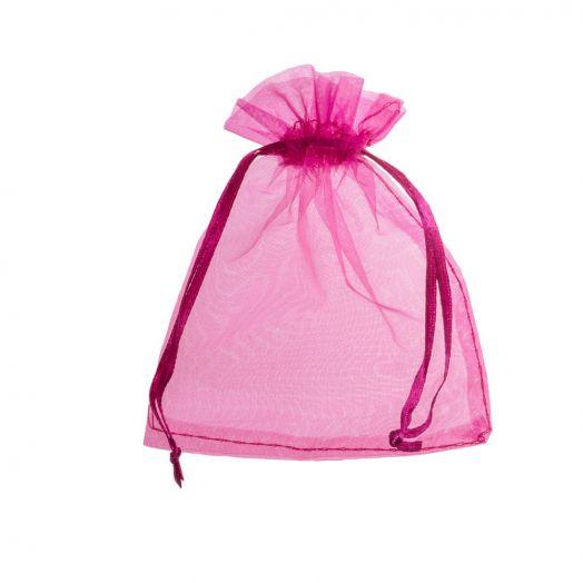 Organza Bags (7 x 9 cm) Rose Red (25 pcs)