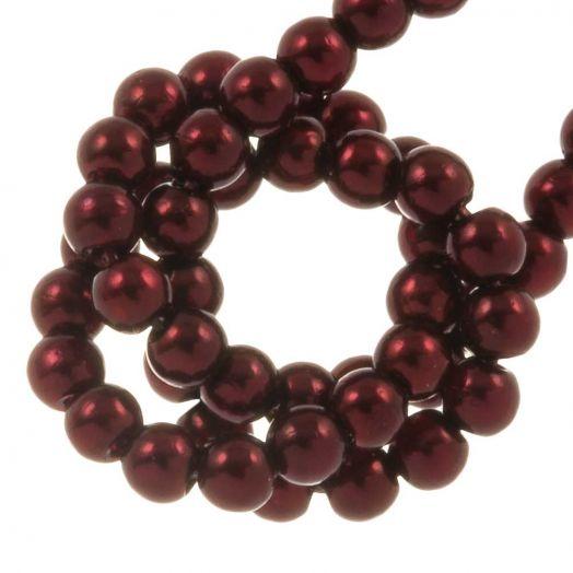 DQ Glass Pearls (2 mm) Wine (150 pcs)