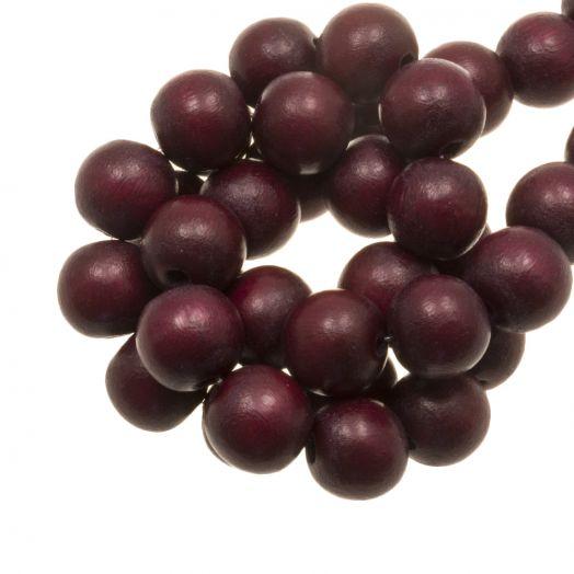 Wooden Beads Intense Look (16 mm) Cherry (25 pcs)
