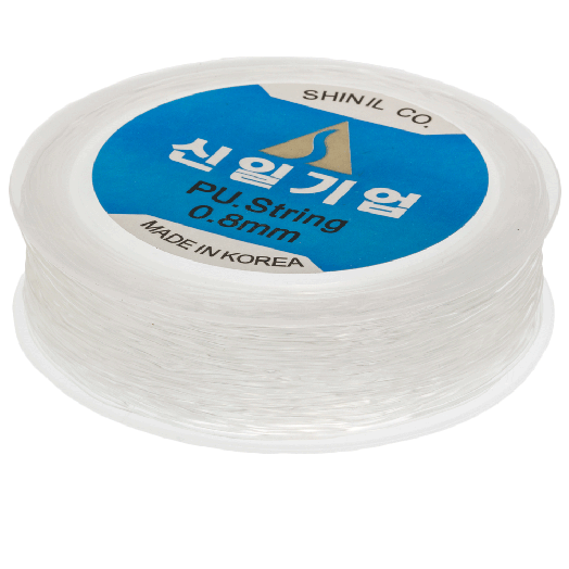 Top Quality Elastic Thread (0.8 mm) Transparant (35 Meter)