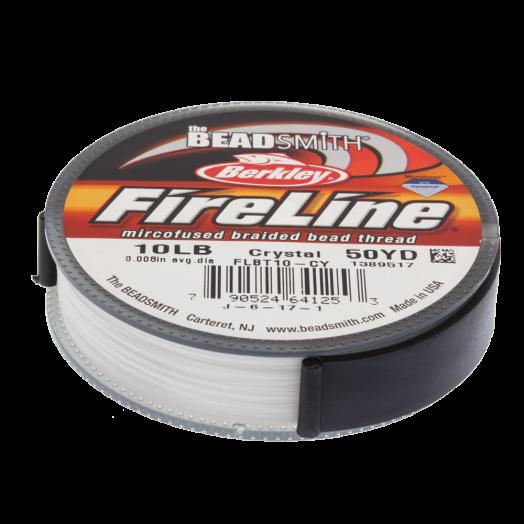 Fireline 10 LB (0.20 mm) Crystal (45 Meter)