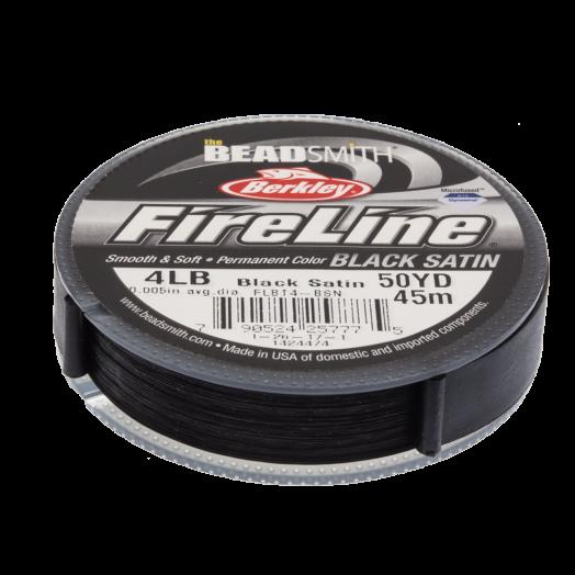 Fireline 4 LB (0.13 mm) Black (45 Meter)