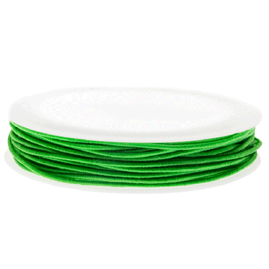 Elastikfaden (0.6 mm) Clear Green (19 Meter)