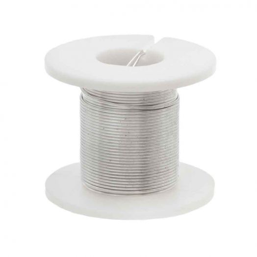 Copper Wire (0.40 mm) Silver (2.75 Meter)