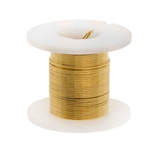 Copper Wire (0.40 mm) Gold (2.75 Meter)