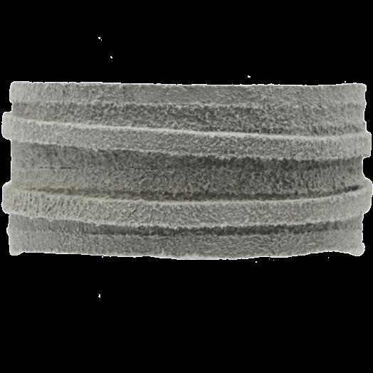 Suede Cord (3 mm) Silver Grey (5 Meter)