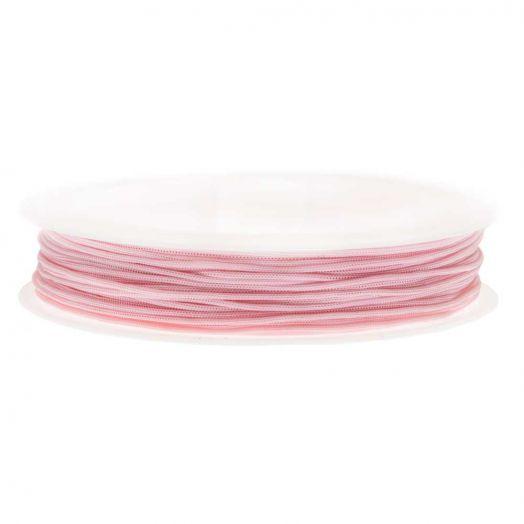 Satin Cord (0.5 mm) Baby Pink (25 Meter)