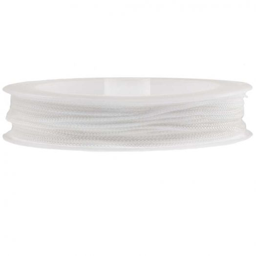 Satin Cord (1 mm) White (20 Meter)