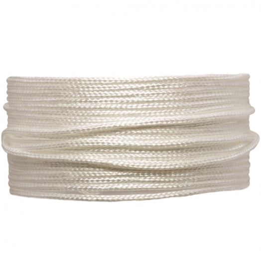 Satin Cord (1.5 mm) White (20 Meter)