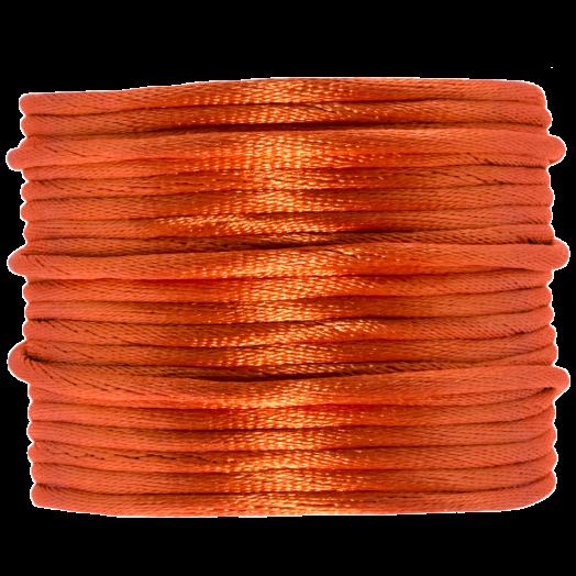 Satin Cord (2 mm) Mandarin (15 Meter)