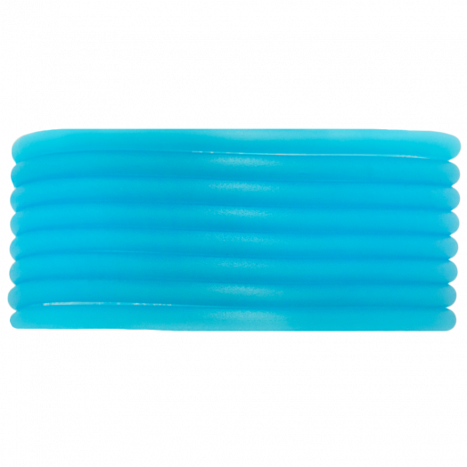 Rubber Cord (3 mm) Sky Blue (5 Meter) hollow inside