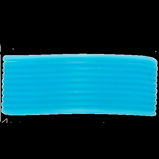 Rubber Cord (2 mm) Sky Blue (5 Meter) hollow inside