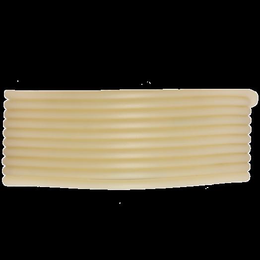 Rubber Cord (2 mm) Light Sand (5 Meter) hollow inside