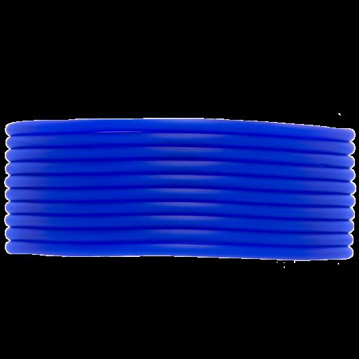 Rubber Cord (2 mm) True Blue (5 Meter) hollow inside