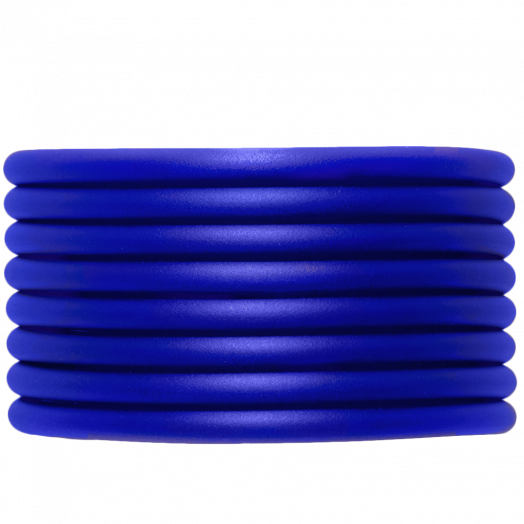 Rubber Cord (4 mm) Royal Blue (5 Meter) hollow inside