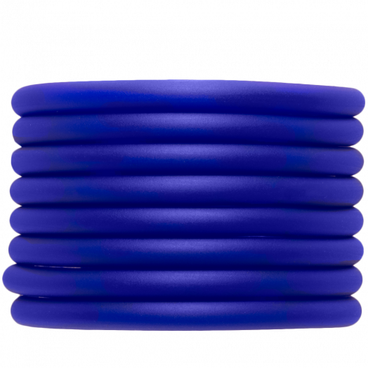 Rubber Cord (5 mm) Royal Blue (2 Meter) hollow inside