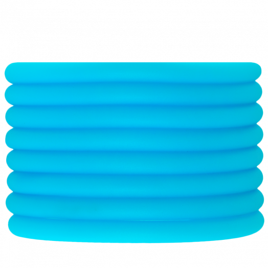 Rubber Cord (5 mm) Sky Blue (2 Meter) hollow inside